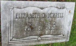 Elizabeth <i>Durden</i> Burrell