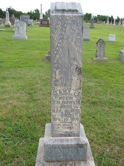Mary L. <i>Hutchins</i> Bowlin