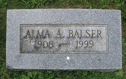 Alma A. <i>Diehlman</i> Balser