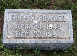 Ruffin Fowler