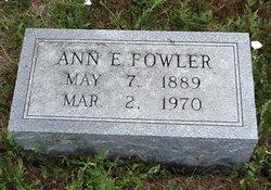 Ann E. Fowler