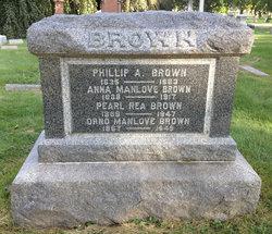 Anna <i>Manlove</i> Brown