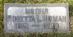 Rosetta Louise <i>Trester</i> Neiman
