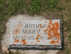 Mary Anna <i>Egenriether</i> Adrian
