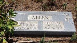 Betty Jane <i>Rathke</i> Allen