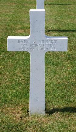 PVT Rhen A. Hilkert