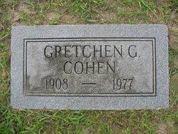 Gretchen G Cohen