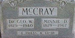 Dr George William McCray