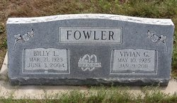 Vivian G. <i>Garriott</i> Fowler