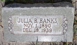 Julia Amelia <i>Burton</i> Banks