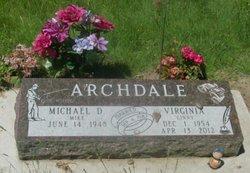 Virginia Ruth Ginny <i>Getz</i> Archdale