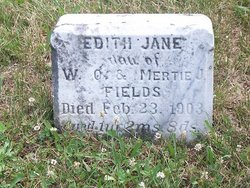 Edith Jane Fields