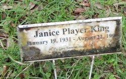 Janice <i>Player</i> King