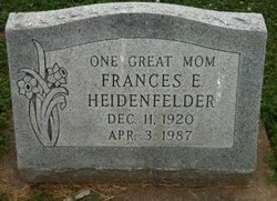 Frances E. <i>Huntoon</i> Heidenfelder