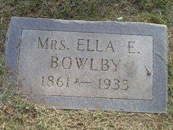 Ella Elizabeth <i>Hamilton</i> Bowlby
