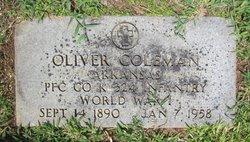 Oliver Hicks Coleman