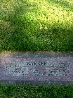 Myrtle Effie <i>Long</i> Barker