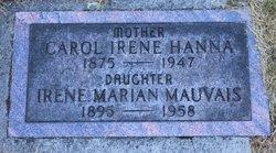 Carol Irene <i>Lutes</i> Hanna