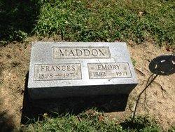 Emory M Maddox