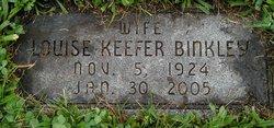 Louise <i>Keefer</i> Binkley