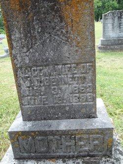 Alice M. <i>Moss</i> Bennett