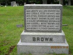 Mary <i>Brown</i> Blake