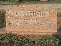 Anna Pearl <i>Massey</i> Beauchamp