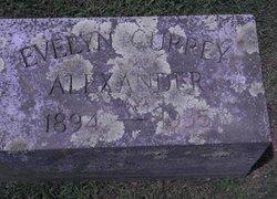Evelyn <i>Currey</i> Alexander