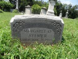 Margaret O Aylmer