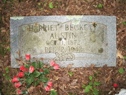 Harriet Catherine <i>Beckett</i> Austin