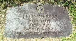PFC Billie Carter