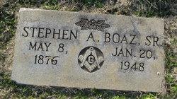 Stephen A Boaz, Sr