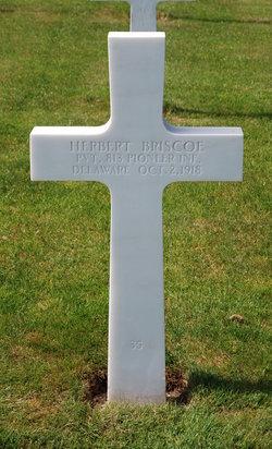 Pvt Herbert Briscoe