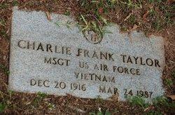 Charlie Frank Taylor