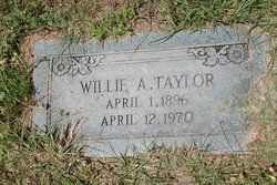 Willie A. Taylor