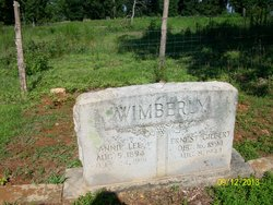 Ernest Gilbert Wimberly