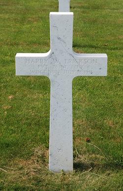 PVT Harry W. Erickson