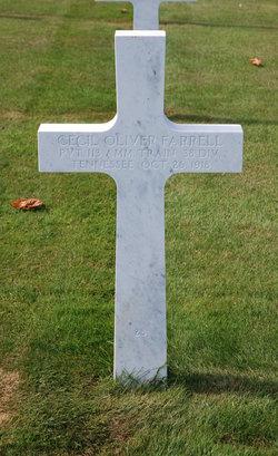 PVT Cecil Oliver Farrell