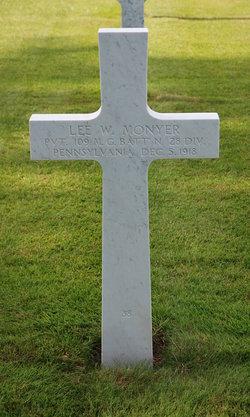 PVT Lee W. Monyer