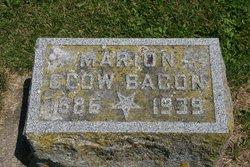 Marion <i>Clow</i> Bacon
