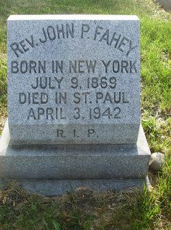 Fr John P. Fahey
