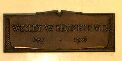 Dr Wesley Wilbur Beckett