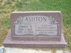 Carrie A. Ashton
