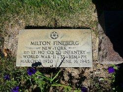 Lieut Milton Irving Fineberg