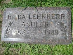 Hilda C. <i>Lehnherr</i> Ashler