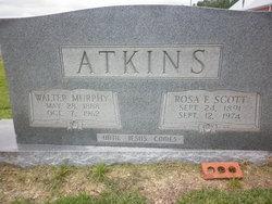 Rosa Frances <i>Scott</i> Atkins