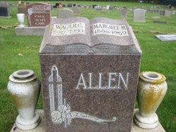 Margaret M <i>Dockrell</i> Allen