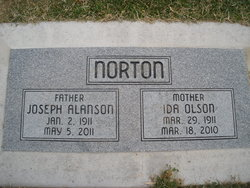 Ida <i>Olson</i> Norton