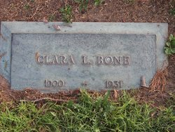 Clara L <i>Bryant</i> Bone