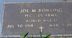 Joe M Bowling